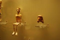 Female figurine Mycenae (konde) Tags: museum terracotta greece figurine mycenae mykene archaeologicalmuseumofmycenae