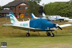 G-BEFF - 28-7325228 - Private - Piper PA-28-140 Cherokee F - Panshanger - 110522 - Steven Gray - IMG_6663