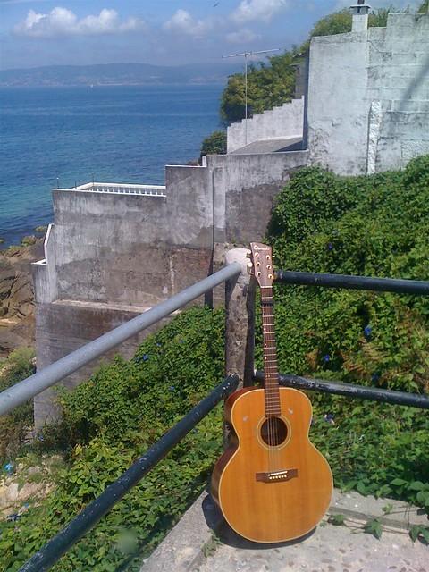 Foto de mi guitarra