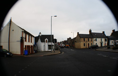 Centre of Mauchline, Ayrshire
