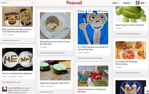 Pinterest - Kids' Food Fun