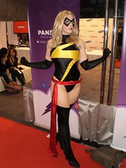 Ms. Marvel (BelleChere) Tags: comics dc costume cosplay friday marvel comiccon powergirl nycc msmarvel