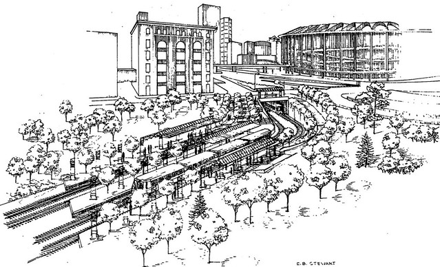 Stadium MetroLink Station Plans