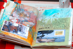 Mallorca travel book, 15 (conjure_real) Tags: sketchbook mallorca valldemossa deia palmademallorca manacor pollenca travelbook natalieratkovski floatyde