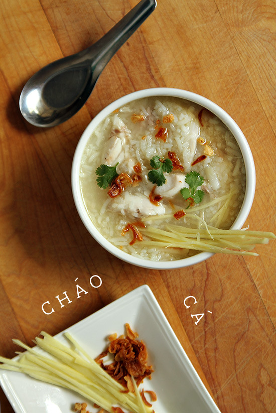 chao ca fish porridge