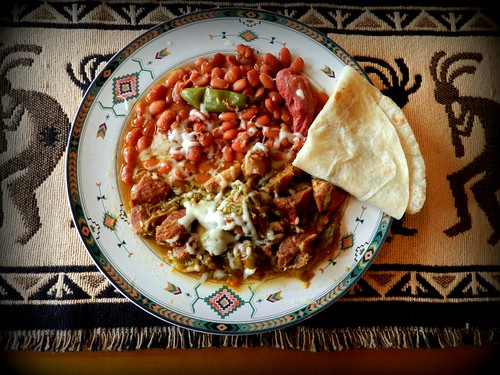 Green Chile and Beans