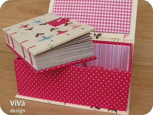 Caixinha + mini sketchbook