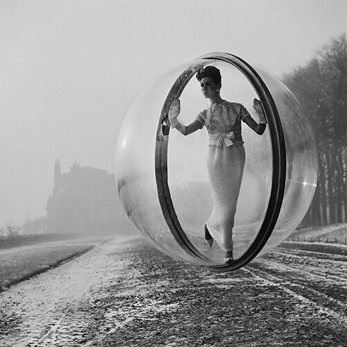 1963 ... fashion model in bubble! by x-ray delta one