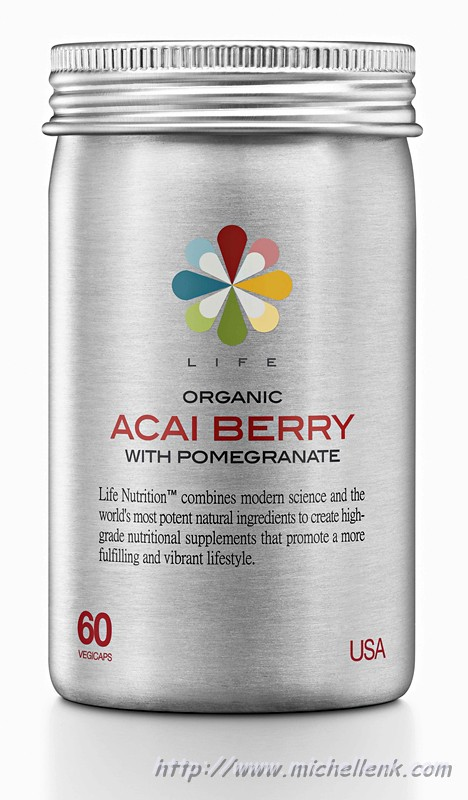 Life Nutrition Acai Berry with Pomegranate