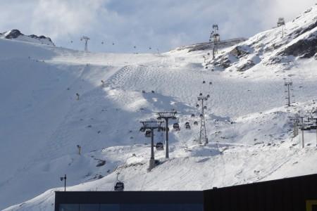 Sölden (ledovce Rettenbach a Tiefenbach) – aktuální report