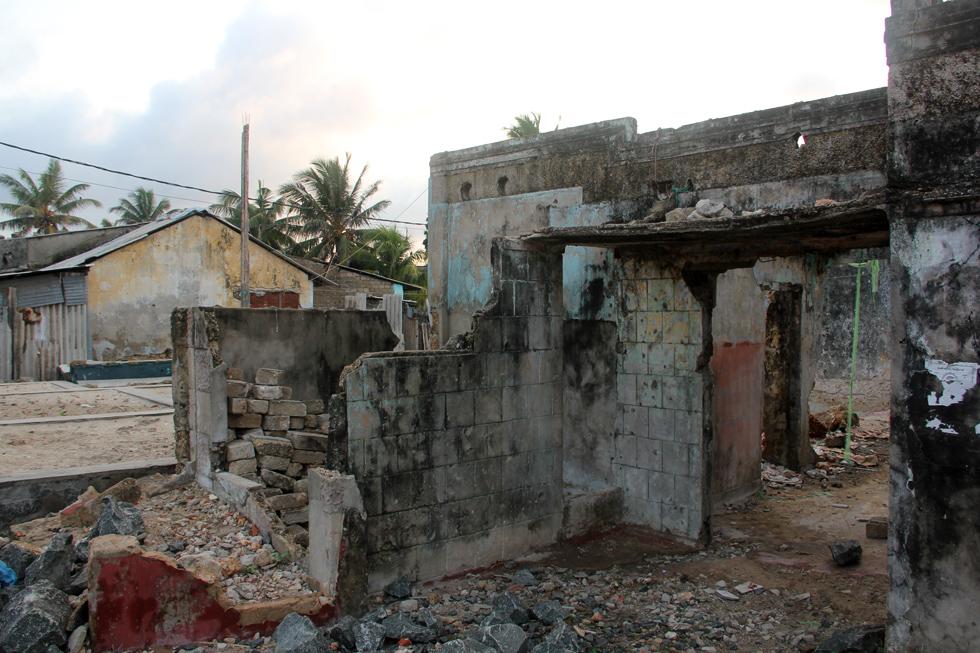 Ruins in Jaffna