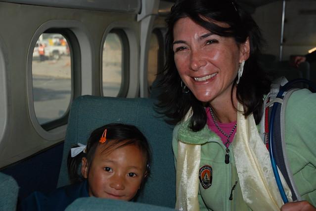 Maya & me plane by Barbara G