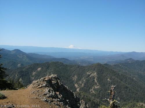 Mt. Rainier view from Teanaway Ridge, Okanogan-Wenatchee National Forest, Washington