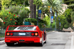 Another Legend. (Alex Penfold) Tags: auto camera red cars alex sports car sport mobile canon square photography eos photo cool flickr image awesome flash picture super ferrari spot casino monaco exotic photograph spotted hyper carlo monte supercar spotting exotica sportscar sportscars supercars f40 penfold spotter 2011 hypercar 60d hypercars alexpenfold