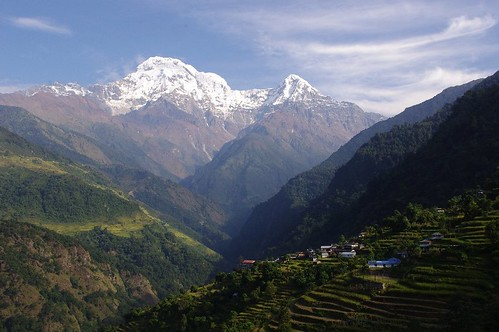 The Modi Khola Valley