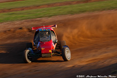 178/365 [365 Project] - Red Drift Panning (Stefano.Minella) Tags: red last photoshop canon project eos is photo track day with shot post photos 33 weekend  some l production ive 365 autocross usm panning ef f4 stefano drift 178 lightroom 500d 2011 minella 178th cs5 maggiora 178365 mygearandme