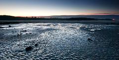 ripples (G.V Photographie) Tags: longexposure sunset sea bw mer seascape france reflection water port landscape rouge coast boat sand nikon eau sable bretagne cte reflet le bateau coucherdesoleil 1224 balise babord poselongue santec dossen nd106 d3000 douron