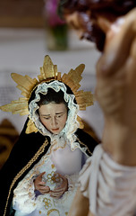 Santo Cristo con Virgen Minglanilla (Carlos Gonzlez Lpez (carlosfoto.es)) Tags: minglanilla figuracion