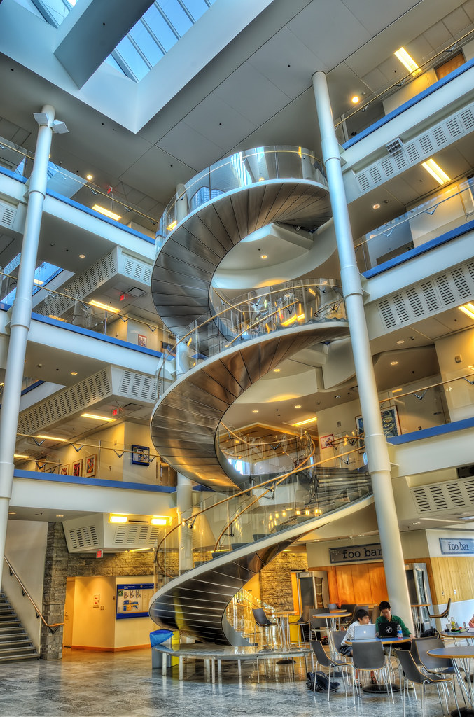 Inside the Bob and Betty Beyster Building