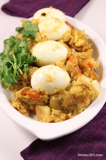 Day 277 - Mashed Potato Egg Roast