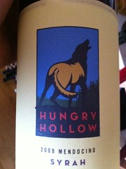 2009 Hungry Hollow Syrah