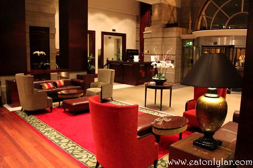 Lobby, Leeds Marriott Hotel