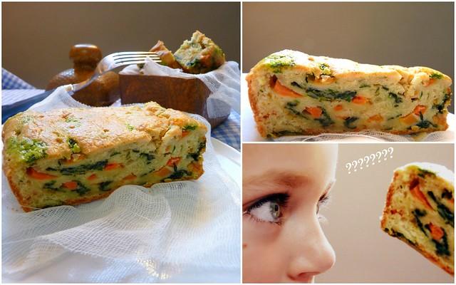 2Cake Parmesano y verduras