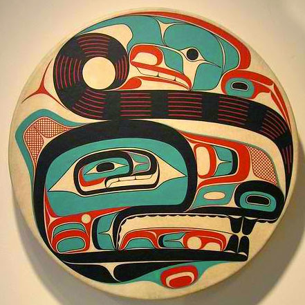 Wolf Drum by David Robert Boxley
