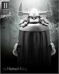 October 11 - The Horned King (Morgan190) Tags: white halloween face silver gijoe scary october king advent calendar lego lord creepy cape minifig horn minifigs underworld custom phantom ruler claws ghoul voldemort horned m19 minifigure 2011 ben10 blackcauldron morgan19 morgan190