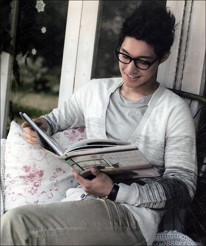Kim Hyun Joong 2012 Calendar Scans