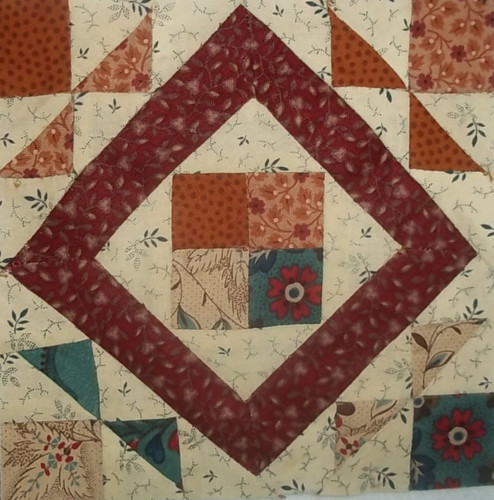 Farmers wife Quilt along by namawsbuzyquiltn