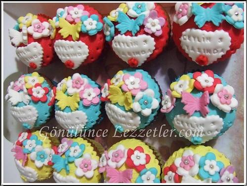 doğum günü muffinleri 1