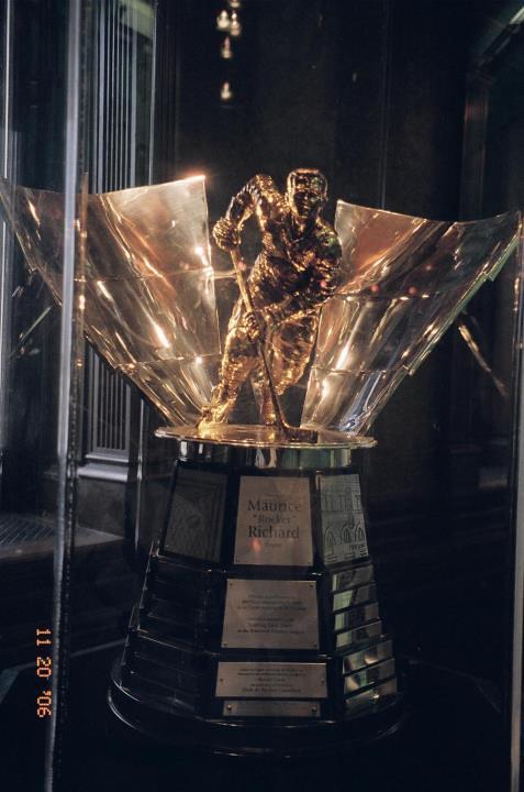Rocket Richard trophy