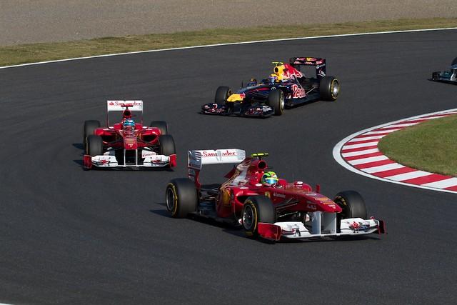 Massa VS Alonso VS Webber