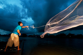 Casting Fishing Net