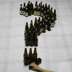 Day 310 - Questionable Behaviour (GillyFace) Tags: beer drunk hand floor drink alcohol question alcoholic rehab substanceabuse dontdrinkanddrive drugsarebad project365 365days drugsarebadmmmkay