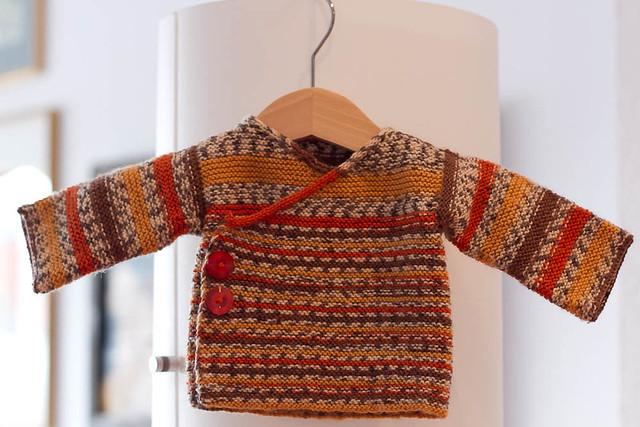 Garter stitch Kimono