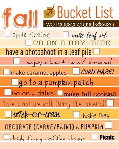Fall list