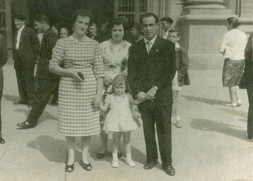Ruth Magallon en el Pilar de Zaragoza
