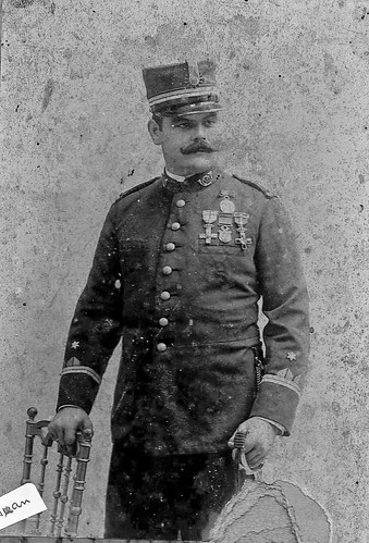 Juan Marco, capitan en Filipinas