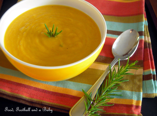 Squash and Garlic Soup 1