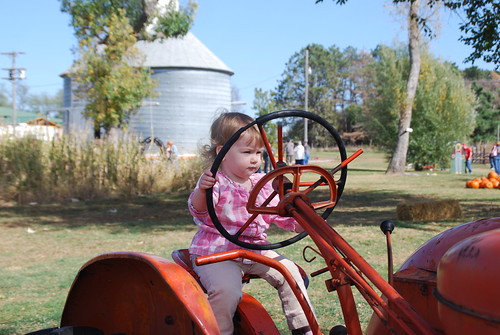 Girls can drive tractors