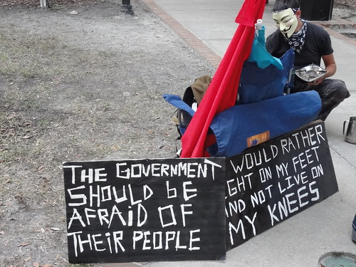 The government should be afraid of their people