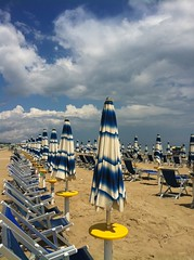 white&blue (beige and some yellow too) (SS) Tags: blue light shadow sea summer vacation sky italy sun white seascape storm beach water beautiful june yellow vertical clouds composition landscap