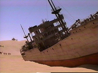gobi desert shipwreck