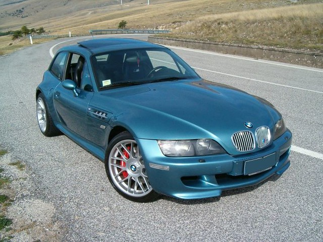 S50B32 BMW M Coupe | Topaz Blue | Black | BBS RC Wheels | BMW CSL Style 127 Wheels