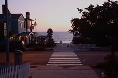 this = love (tiffanymaee) Tags: street sunset beach crosswalk hermosabeach