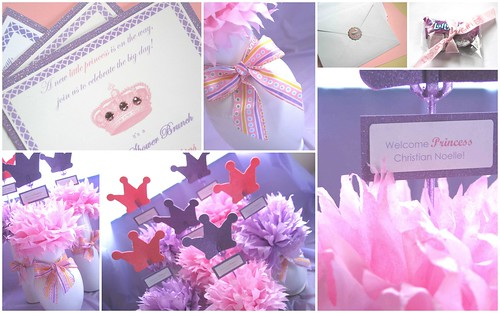 Baby Princess Themed Baby Shower by Nina Renee Designs