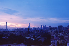 The City (a l e x . k) Tags: guangzhou city sky film skyline pentax lx fa43mmf19