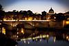 Ponte Sant'Angelo, Roma (apfff) Tags: travel portrait italy vatican rome roma church canon ancient italia sightseeing vaticano 5d vaticanmuseum markii museivaticani saintpeter rzym watykan muzeawatykańskie